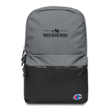 White River Embroidered Champion Backpack