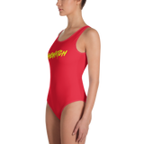 Baewatch One-Piece Swimsuit - Saturday's A Rugby Day