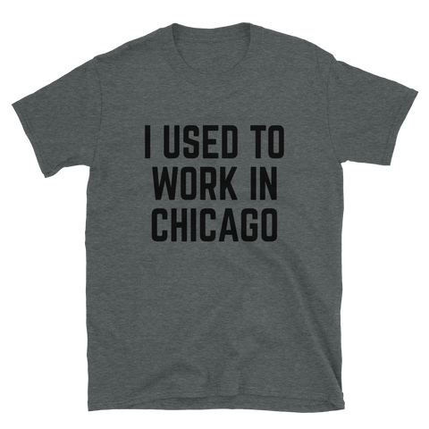 Chicago w/ CMU Back Short-Sleeve Unisex T-Shirt