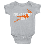 Grand Rapids Rugby Infant Bodysuit - Saturday's A Rugby Day