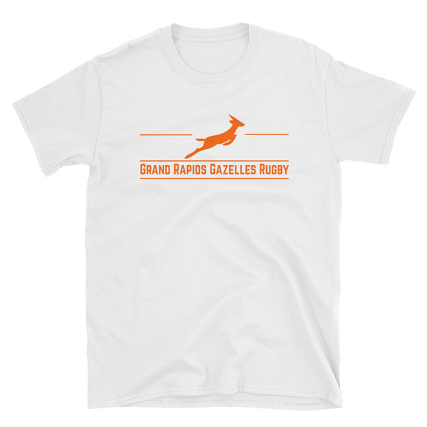 Grand Rapids Gazelles Game Bar Short-Sleeve Unisex T-Shirt - Saturday's A Rugby Day