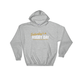 Saturday's a Rugby Day - Hooded Sweatshirt - Saturday's A Rugby Day