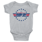 Top Gunner Infant Bodysuit - Saturday's A Rugby Day
