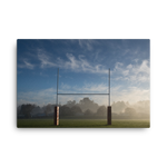 Uprights Canvas - Saturday's A Rugby Day