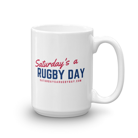 SARD Mug - Saturday's A Rugby Day