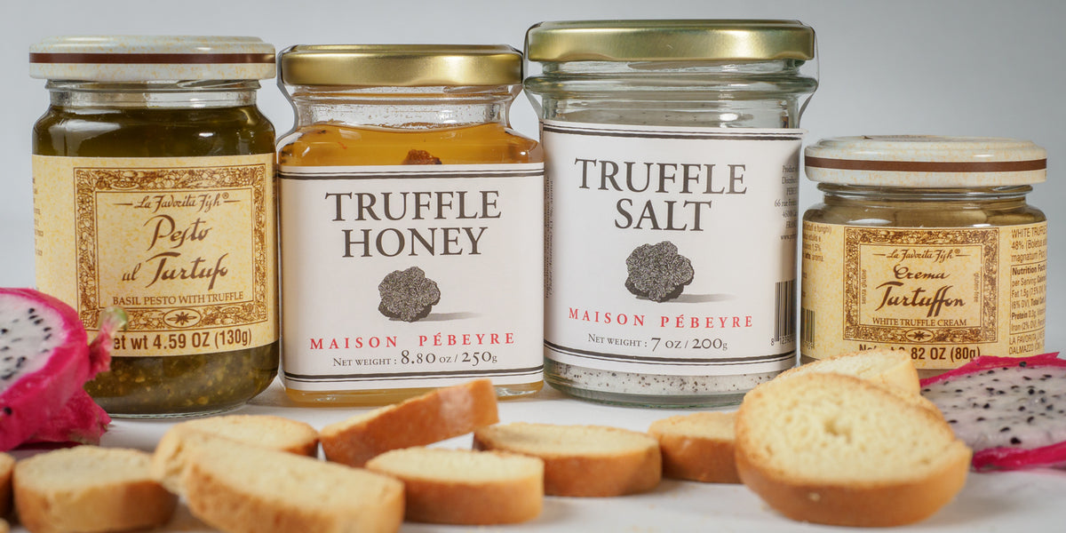 Truffle Honey, Truffle Salt, Truffle Pesto