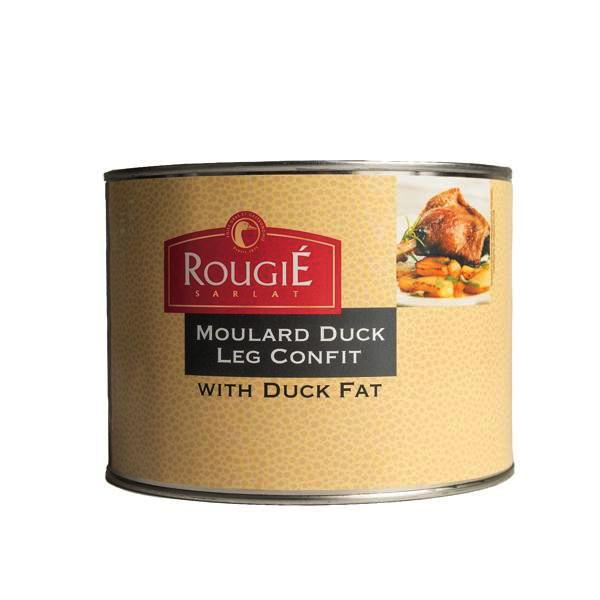 Moulard Duck Leg Confit Wt. 54 oz. by Rougie