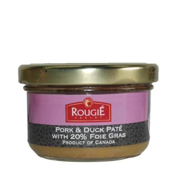 Pork & Duck Pate With 20% Foie Gras Wt. 2.8 oz. by Rougie