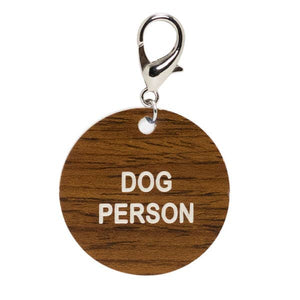 Dog Person Key Tag