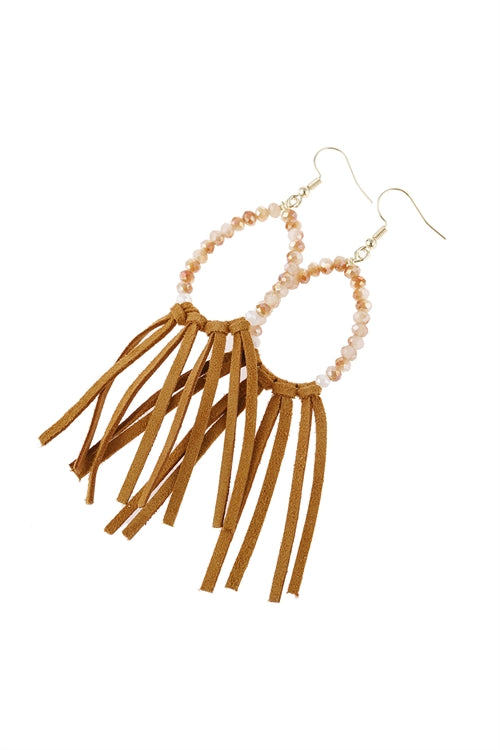 Cloth Tassel Earrings