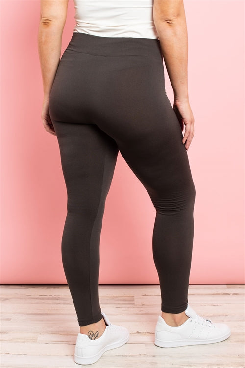 Granite Fleece Leggings - PLUS