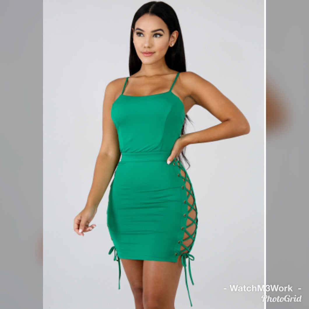Green Body-con Dress