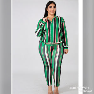 Green Matching Set