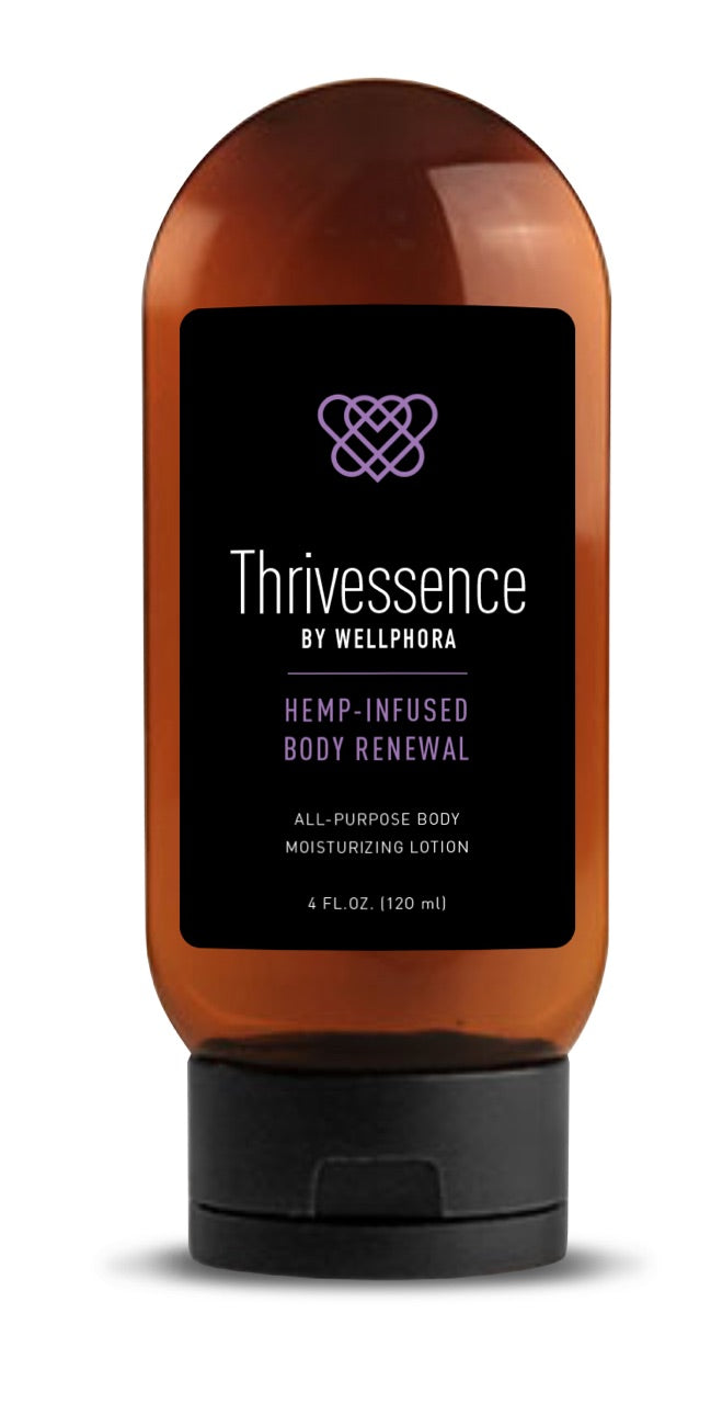 Thrivessence Moisturizing Lotion 200mg CBD 4oz Tottle Bottle