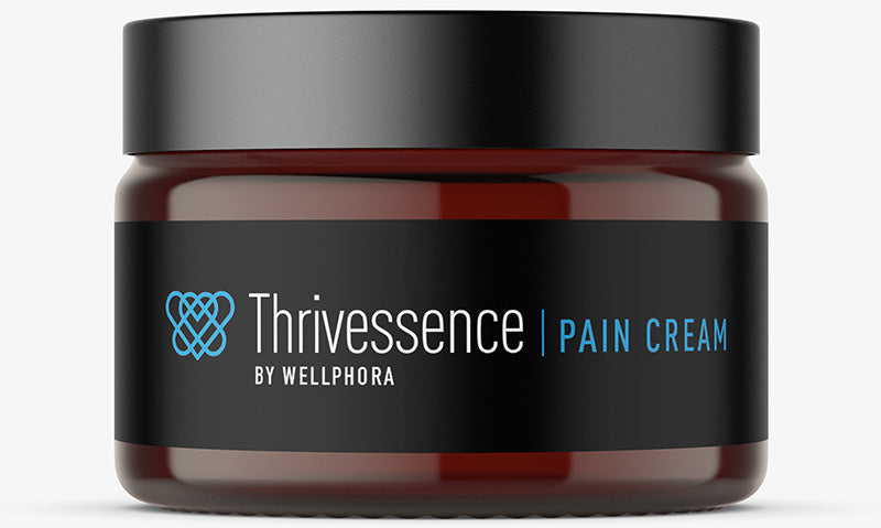 Thrivessence CBD Hemp Infused Pain Cream - Wellphora