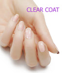 Crystal Clear Nail Polish Top Coat Strips - Glitterati