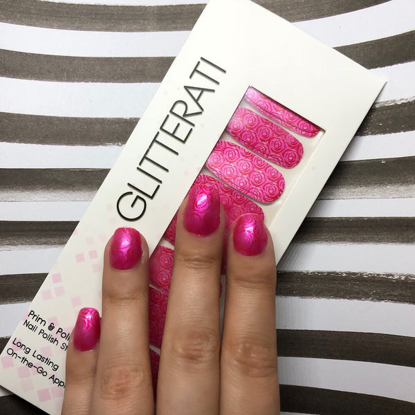 """Romance"" Patterned Nail Polish Strips  BACKORDERED!!!! DUE IN 9/20!!! - Glitterati"