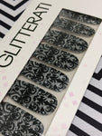 """Fancy Pants"" Glitter Nail Polish Strips - Glitterati"