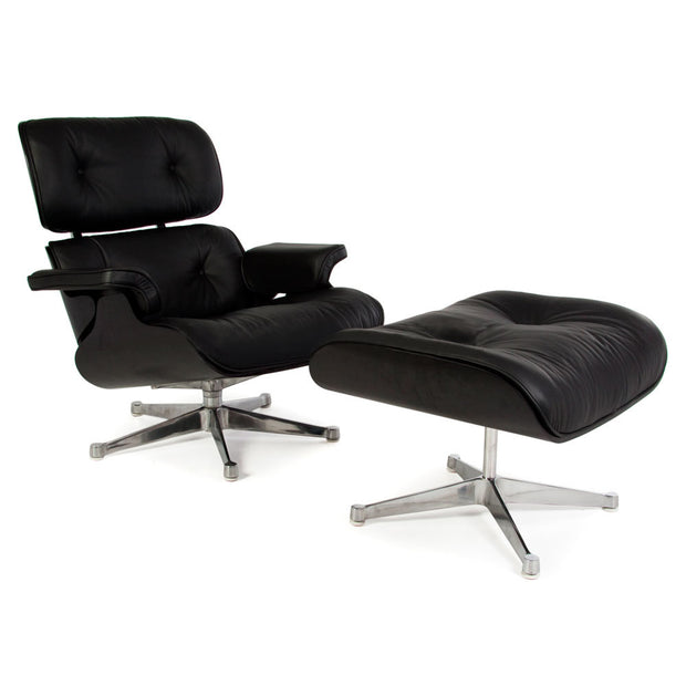 Eames Lounge Chair + Ottoman