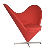 Panton - Heart Chair