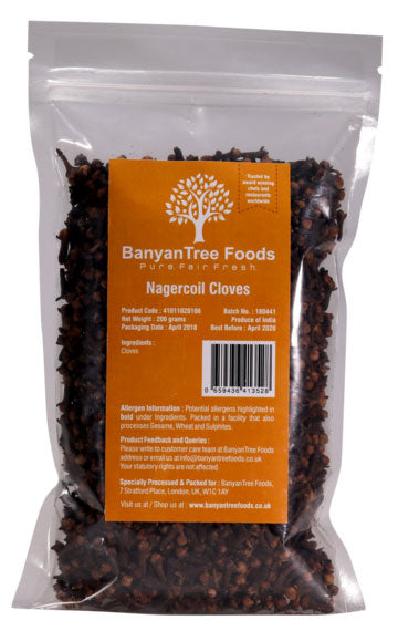 BanyanTree Foods Nagercoil Cloves