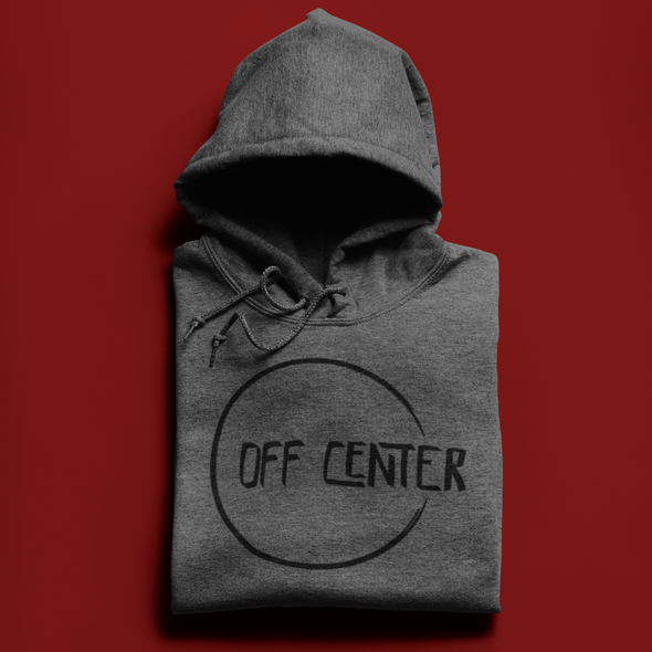 Off Center Classic Dark Pullover Hoodie