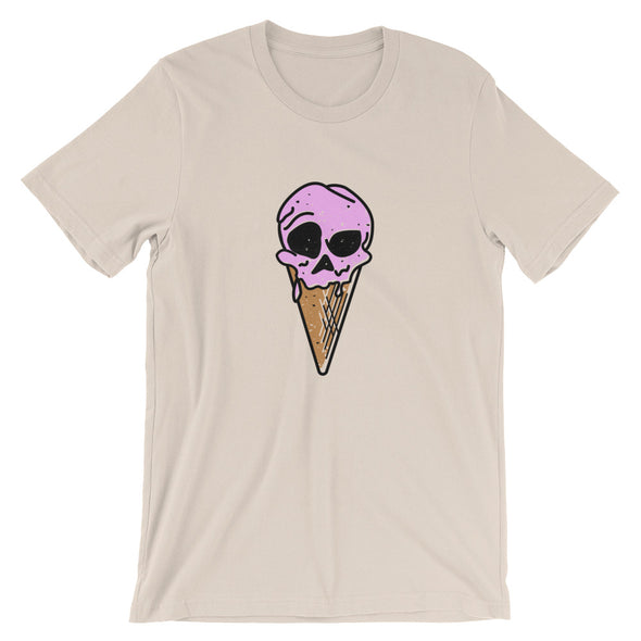 Ice Cream and Dead Things | Crew Neck T-Shirt