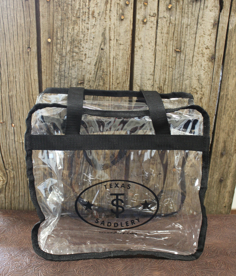 Clear Texas Saddlery Bag
