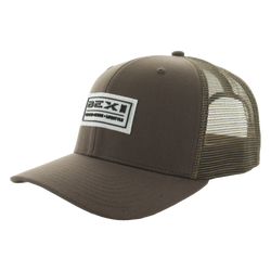 BEX SONIC ADJUSTABLE CAP in brown color