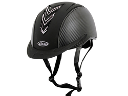 Lami-Cell Elite Helmet Black with Crystal V