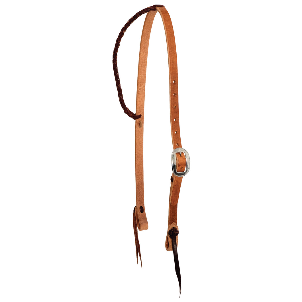 3/4'' Twisted & Tied Braided Ear Headstall