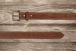 Brown Rough Out Belt