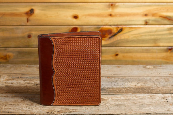 Saddle Tan Spider Notebook