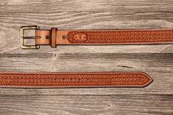 Saddle Tan Spider Belt