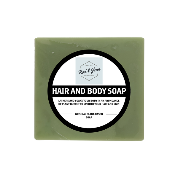 Rods Hair & Body Soap