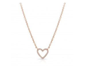 ROOSE OPEN HEART NECKLACE