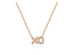 ROSE XO NECKLACE