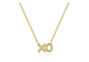 GOLD XO NECKLACE