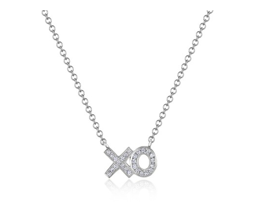 14KT XO NECKLACE - Cabochon Fine Jewelry