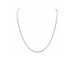 DIAMOND TENNIS NECKLACE - Cabochon Fine Jewelry