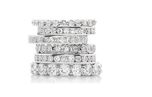 DIFFERENT STYLE DIAMOND ETERNITY BANDS - Cabochon Fine Jewelry