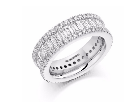 Baguette Eternity Band