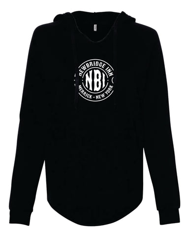 Newbridge Inn Circle Design Womens Hooded Sweatshirt