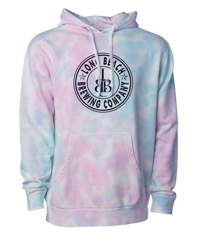 Long Beach Brewing Co. Tie Dye Unisex Sweatshirt