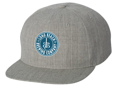 Long Beach Brewing Co. Classic Flat Bill Snapback