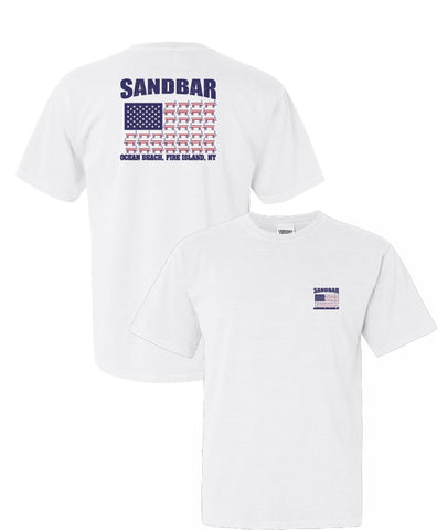 The Sandbar Wagon Flag Unisex T-Shirt