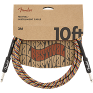 Fender Festival Rainbow Instrument Cable 10