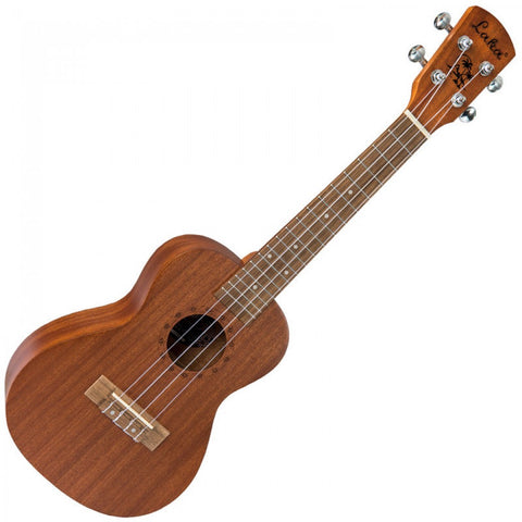 LAKA SOPRANO UKULELE & BAG - NATURAL