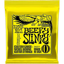 Ernie Ball Electric Strings - Beefy Slinky 11-54