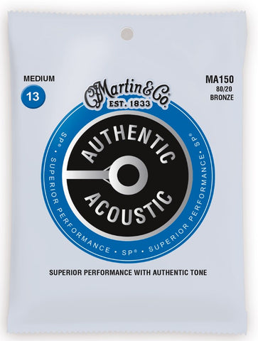 Martin Authentic Acoustic Strings - MA150